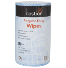 Regular Duty Wipes - Rolls - 65m - Sheet Size 30x50cm